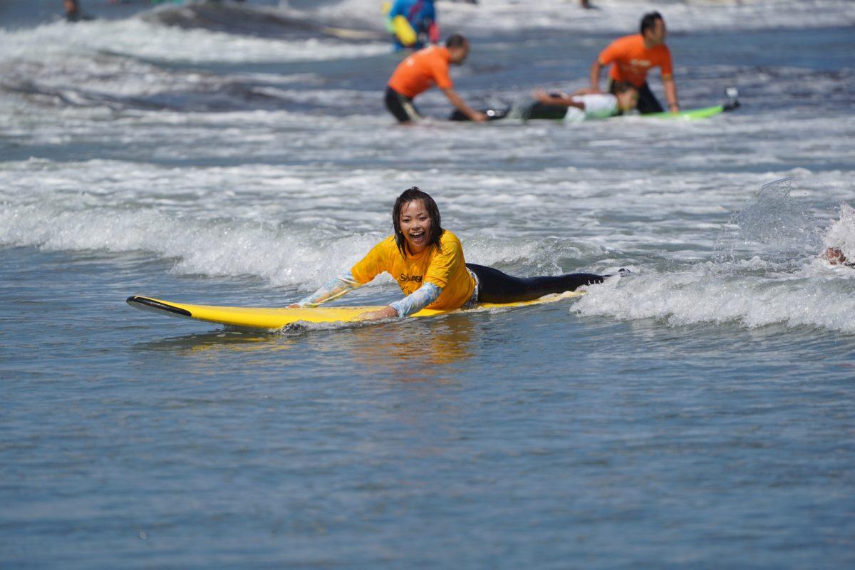 第1回JASO全日本障がい者サーフィン選手権(2018)